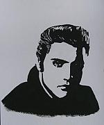 Elvis Presley Painting Originals - Elvis Presley by Chris Reynolds