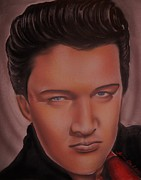 People Sculpture Prints - Elvis Presley Print by Terrence ONeal