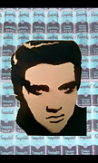 Iconic Paintings - Elvis Soup by Tom Evans