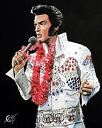 Elvis Print by Tom Carlton