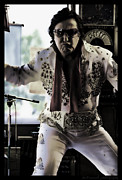 Elvis Impersonators Photos - Elvis....sort of by Sheri Bartoszek