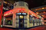 Built Digital Art Posters - Elwood Bar and Grill Detroit Michigan Poster by Gordon Dean II