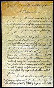 Emancipation Proclamation Posters - Emancipation Proc., P. 1 Poster by Granger