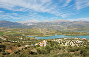 Embalse De La Viñuela, Vinuela Reservoir, Spain Print by Ken Welsh