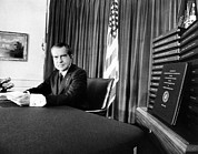 Featured Art - Embattled President Richard Nixon by Everett
