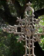 Embellished Photos - Embellished Cross by Peter Piatt