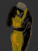 Hug Digital Art Originals - Embrace by Fred  Angrand