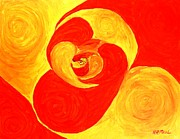 Featured Paintings - Embryo by Buddy Paul