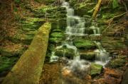 Falls Photos - Emerald Dreams by Evelina Kremsdorf