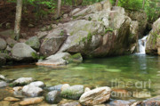 White Mountains New Hampshire Posters - Emerald Pool - White Mountains New Hampshire USA Poster by Erin Paul Donovan