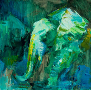Whisper Paintings - Emerald Spirit by Marsha Heimbecker
