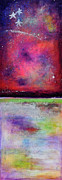 Constellations Painting Prints - Emergence 2 Print by Johane Amirault