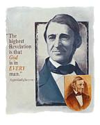 Emerson's Truths Print by Shawn Shea
