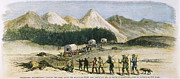 Leadville Prints - Emigrants & Miners, 1879 Print by Granger