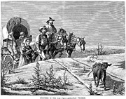 Destiny Prints - Emigrants, 1874 Print by Granger