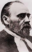 Naturalism Framed Prints - Emile Zola 1840-1902, French Novelist Framed Print by Everett