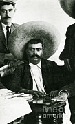 Revolutionary Posters - Emiliano Zapata Poster by Science Source
