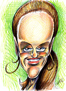 Caricature Drawings - Emily by Big Mike Roate