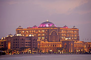Aussenaufnahme Framed Prints - Emirates Palace Framed Print by Peter Schickert