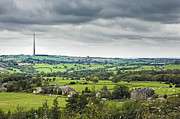 Telecommunication Prints - Emley Moor TV Transmitter, Yorkshire, England Print by Jon Boyes