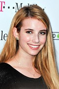 Emma Framed Prints - Emma Roberts At Arrivals For T-mobile Framed Print by Everett
