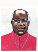 Emmanuel Milingo Print by Emmanuel Baliyanga