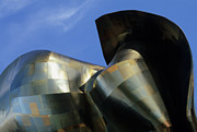 Frank Gehry Prints - EMP Building Seattle Print by Bob Christopher