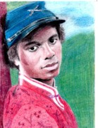 Michael Jackson Metal Prints - Empathetic Metal Print by Cassandra Allsworth