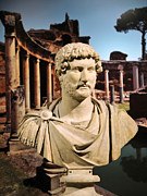 Selcuk Framed Prints - Emperor Hadrian Framed Print by Michael Oakes