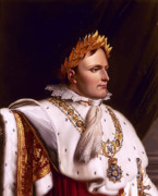 Napoleon Bonaparte Prints - Emperor Napoleon Bonaparte  Print by War Is Hell Store