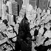 New York New York Photos - Empire Shadow by Troy Ziel
