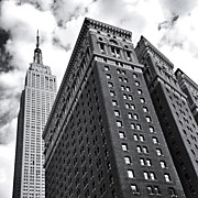 Landscapes Posters - Empire State Building - New York City Poster by Vivienne Gucwa