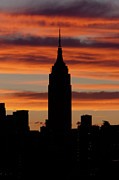 Skies - Empire State Building and Pre-Sunrise Sky by Clarence Holmes