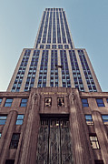 Name Prints - Empire State Building Print by Benjamin Matthijs