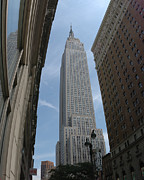 New York City Skyline Originals - Empire State Building by Eric Jacobs