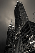 New York Prints - Empire State Building Print by Jane M