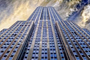 Architecture Photos - Empire State Building  by John Farnan