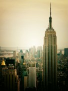 Nyc Prints - Empire State Building New York Cityscape Print by Vivienne Gucwa
