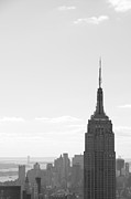 Empire State Building Print by Steven Gray