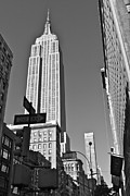Empire Photo Originals - Empire State in Black and White by Jordan Drapeau