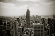Most Prints - Empire State Print by Ken Marsh