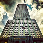 Skyline Framed Prints - Empire State Framed Print by Luke Kingma