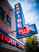 North Dakota Prints - Empire Tavern Sign in Fargo North Dakota Print by Paul Velgos