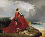 Coastal Art - Empress Eugenie by E Defonds