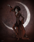 Evil Prints - Empress Invidia Print by Christopher Ables