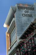 China Town Photo Metal Prints - Empress of China Metal Print by Joel P Black