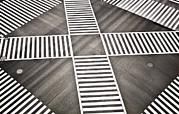 Empty Crosswalk Shibuya Crossing Print by Bryan Mullennix