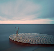 Malmo Prints - Empty Jetty Print by Andreas Hagman Photo Sweden