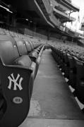 Yankee Stadium Prints - Empty Stadium Print by Michael  Albright