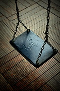 Games Pyrography - Empty Swing by Zafer GUDER